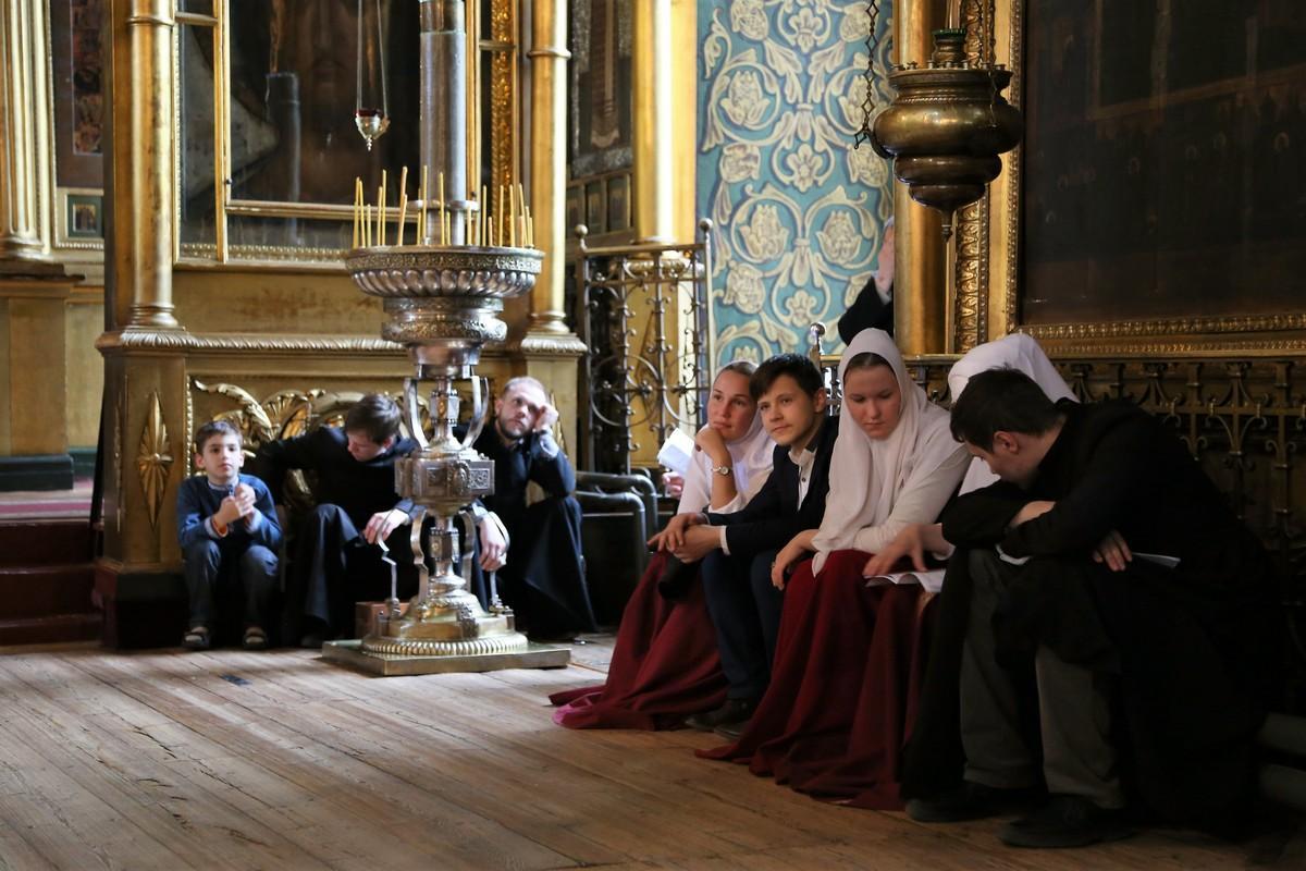 Вечер духовных песнопений в Покровском соборе