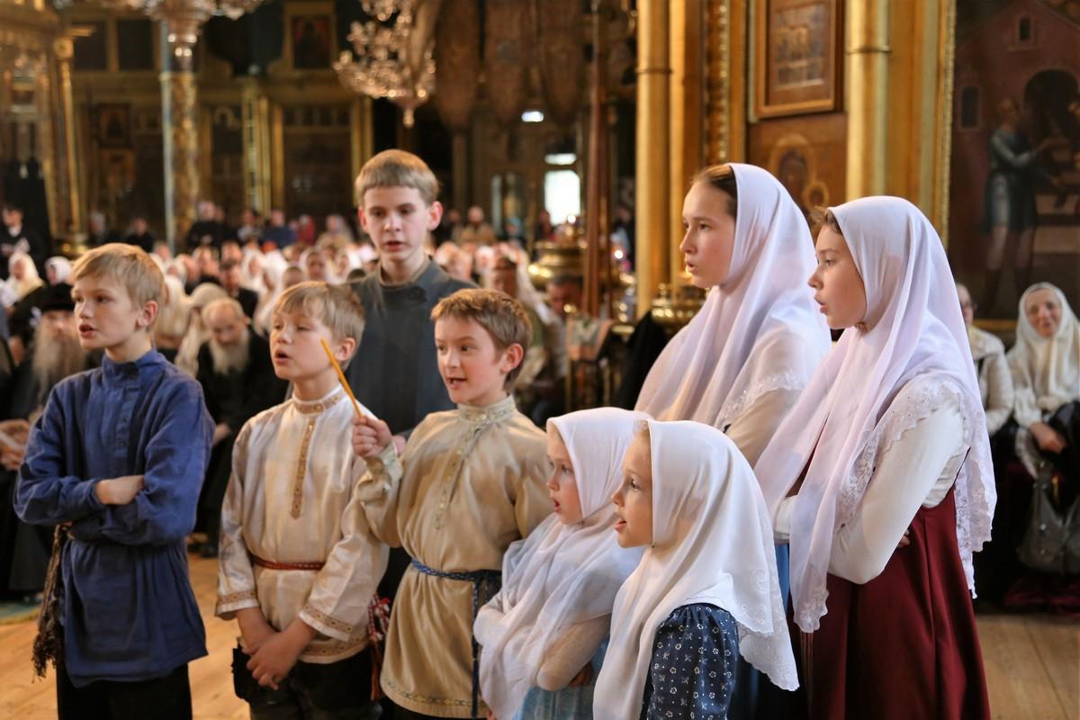Вечер духовных песнопений. Детский хор Рогожской общины
