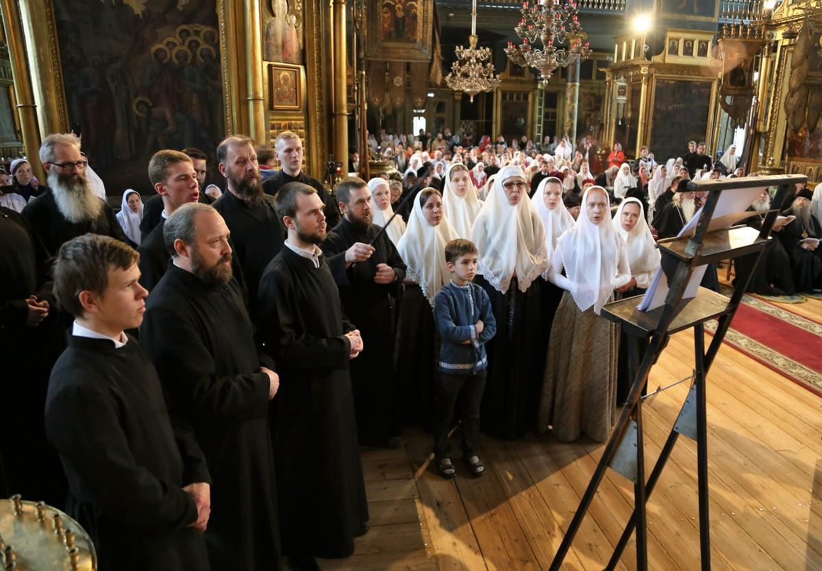 Вечер духовных песнопений. Хор Лиговской общины Санкт-Петербурга