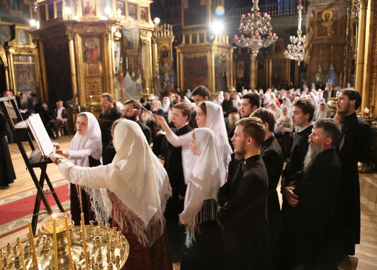 Вечер духовных песнопений. Хор Московского духовного училища