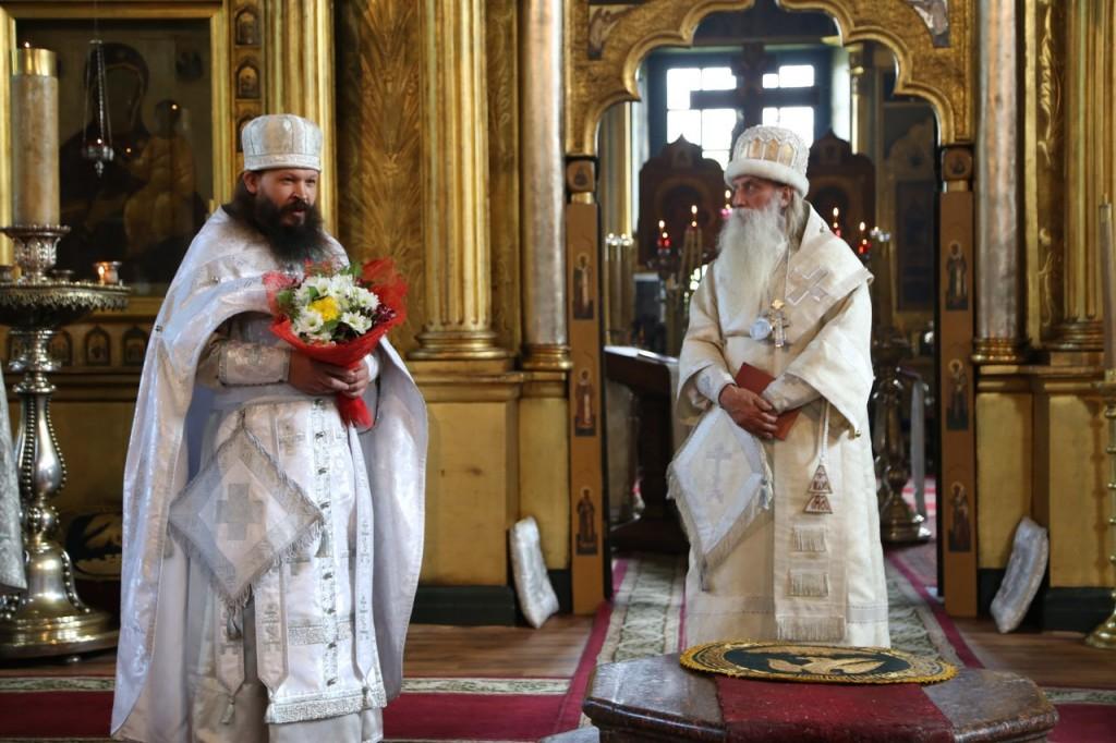 Поздравление иконома Московской епархии протоиерея Алексия Михеева