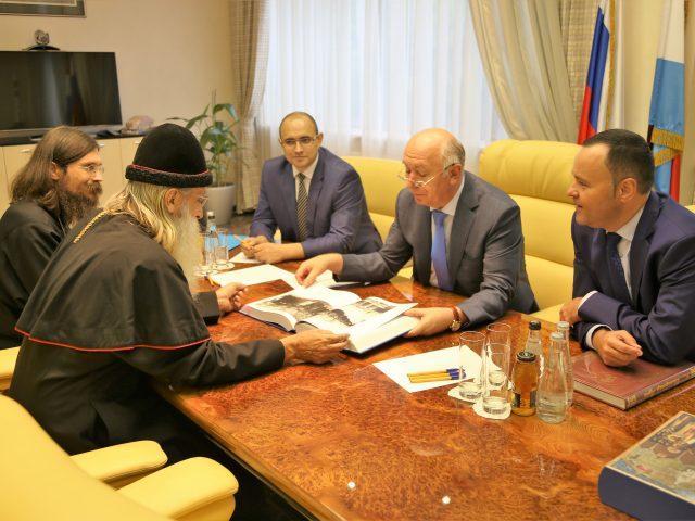 Состоялась встреча предстоятеля Церкви с Губернатором Самарской области
