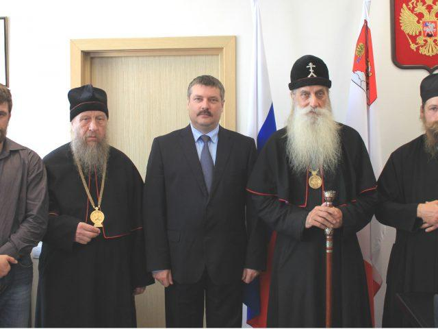 Визит митрополита Корнилия в Вологду