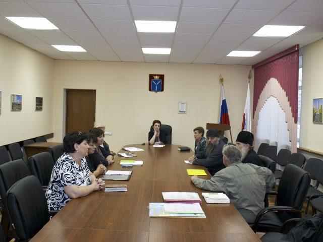 Конструктивная встреча в Министерстве социального развития Саратовской области