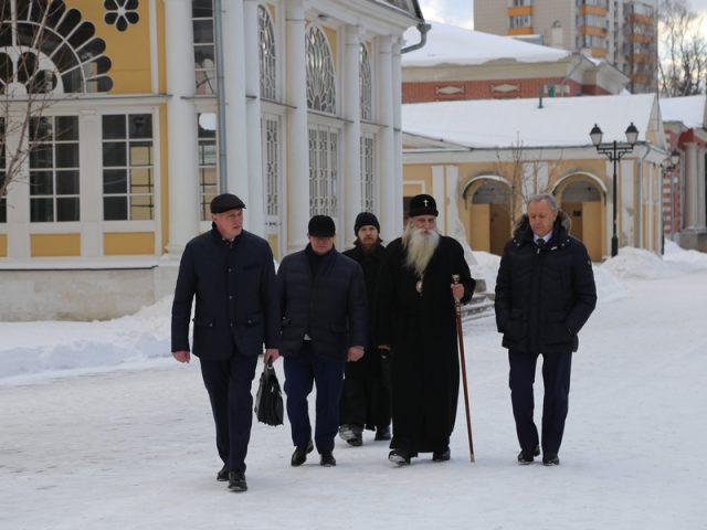 Архиерейская служба в Покровском соборе на Рогожском. Праздник Богоявления 2017