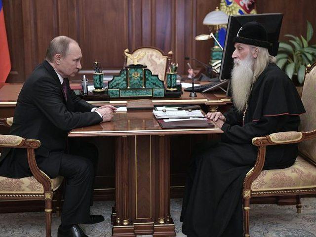 Предстоятель старообрядческой Церкви митрополит Корнилий встретился с президентом РФ Владимиром Путиным