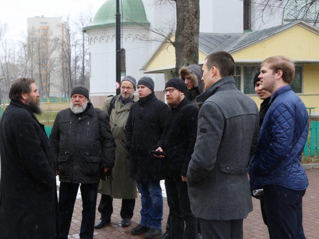 Преподаватели и студенты Сретенской духовной семинарии заинтересовались старообрядчеством