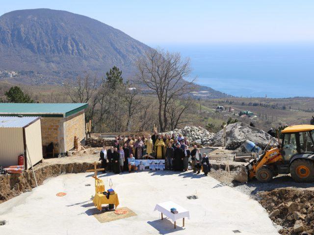 В Крыму основан храм во имя святых апостолов Петра и Павла