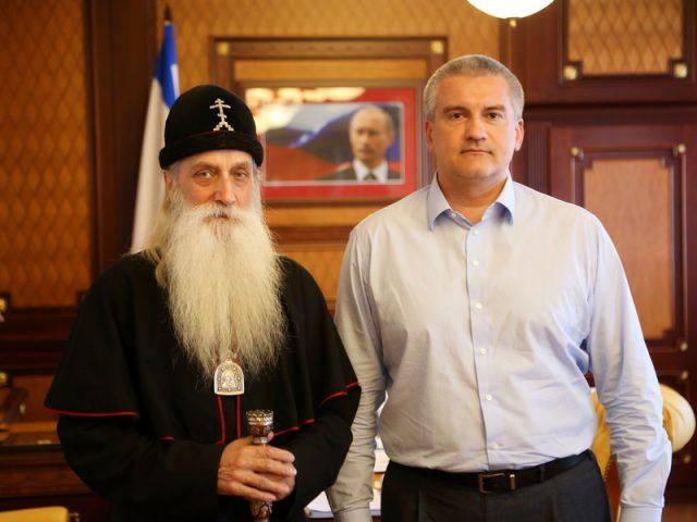 Митрополит Корнилий встретился с главой Республики Крым
