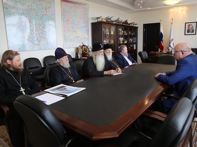 Встреча с губернатором Нижегородской области Валерием Шанцевым
