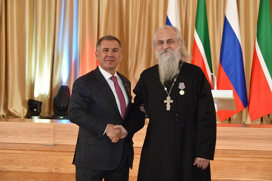 Священник Русской Православной Старообрядческой Церкви удостоен государственной награды