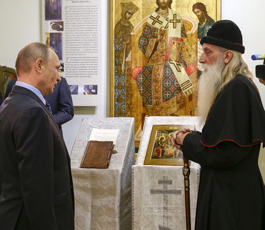 Рогожский духовный центр посетил президент России Владимир Путин