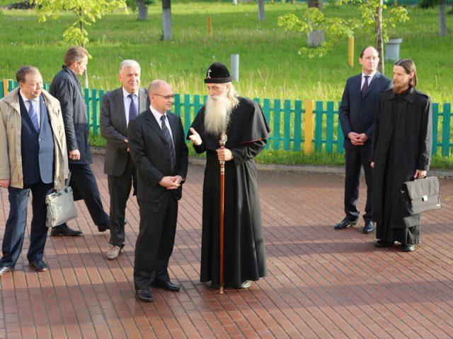 Сергей Владиленович Кириенко посетил Рогожский духовный центр