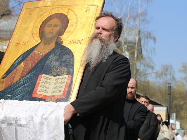 Празднование Недели святых Жен-мироносиц на Рогожском 2017