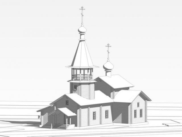 Началось строительство храма в г. Людиново