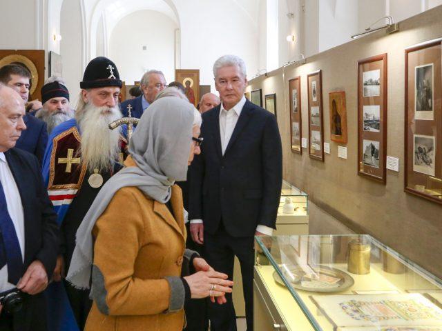 Визит на Рогожское мэра Москвы Сергея Собянина 2017