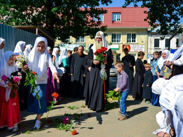 Митрополит Корнилий с архипастырским визитом посетил Оренбург