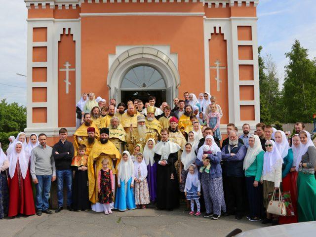 Епархиальное совещание Санкт-Петербургской и Тверской епархии