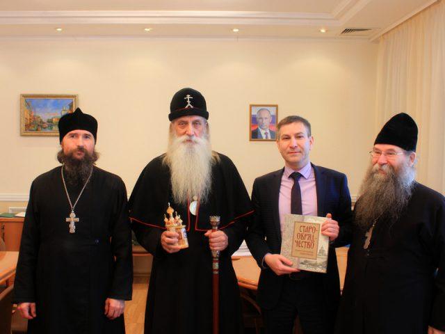 Митрополит Корнилий встретился с главой администрации губернатора Пермского края
