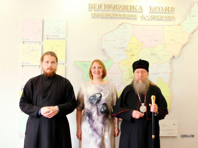 Епископ Ярославский и Костромской Викентий посетил Республику Коми