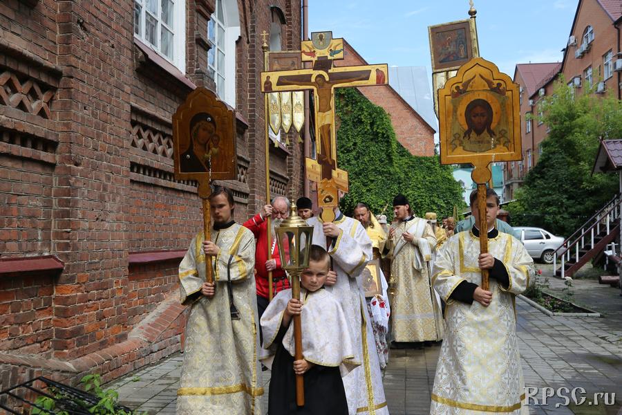 Престольный праздник в Казани