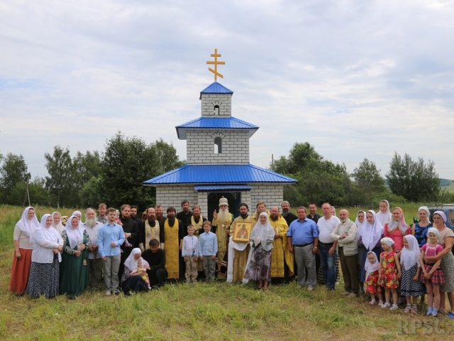 На родине священномученика Аввакума воздвигли часовню