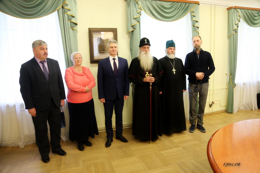 Встреча с исполняющим обязанности главы Республики Карелия А.О. Парфенчиковым