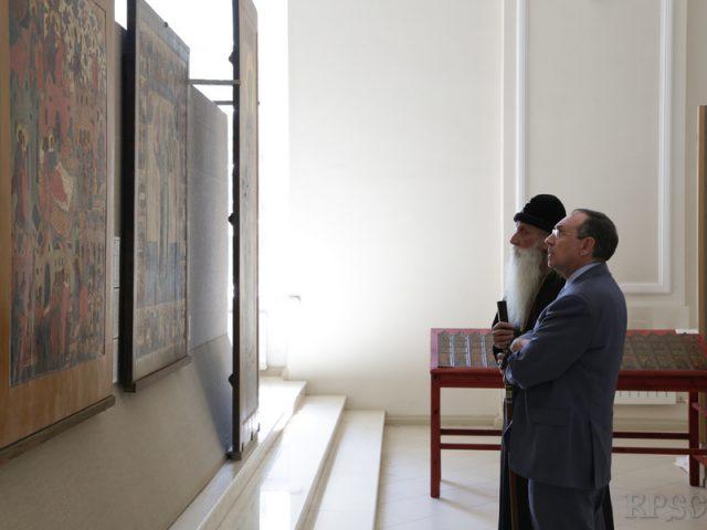 Депутат Госдумы В.А. Никонов посетил Рогожский духовный центр