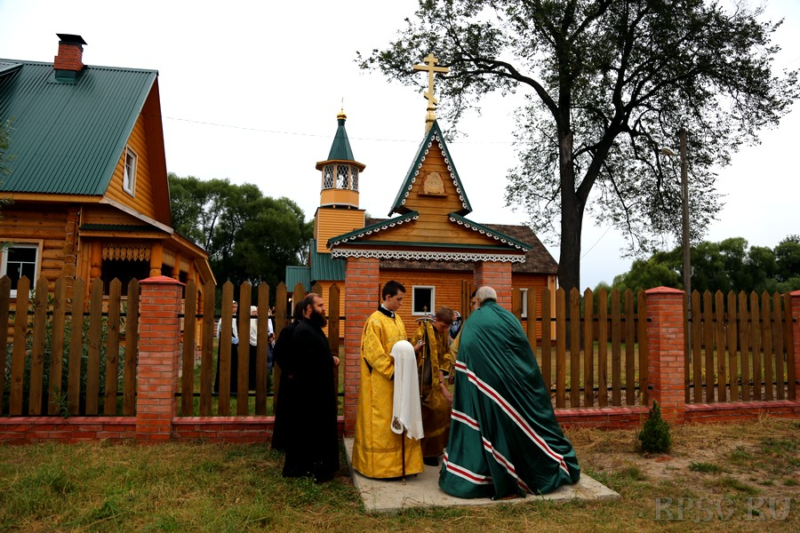 Освящение храма в селе Беливе