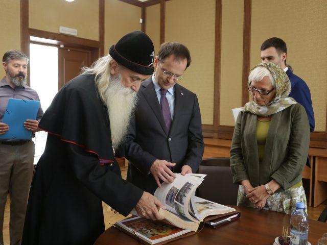 Министр культуры Российской Федерации посетил Рогожское