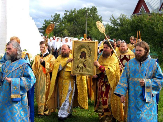 Торжества на Костромской земле