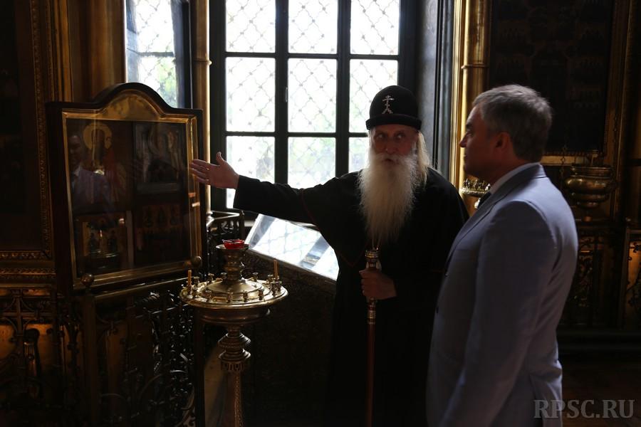 Рогожский духовный центр посетил председатель Госдумы РФ В.В. Володин