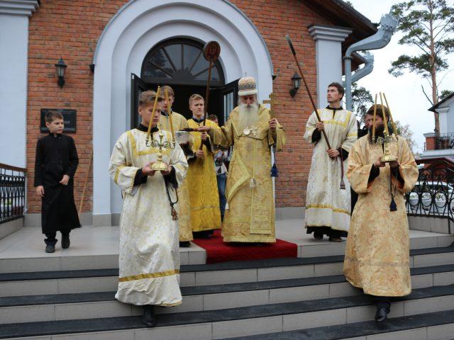 Юбилеи новосибирского прихода