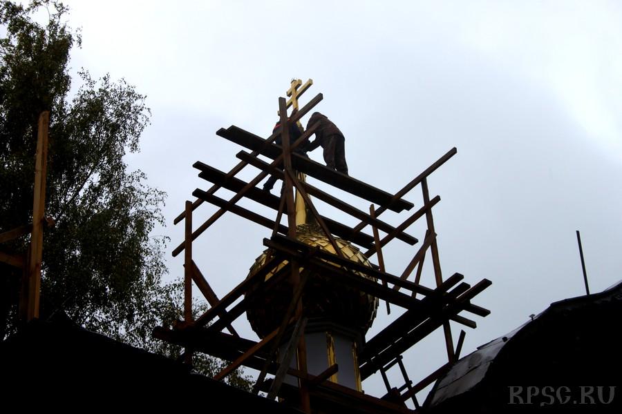 В Шуе из руин возрождается храм