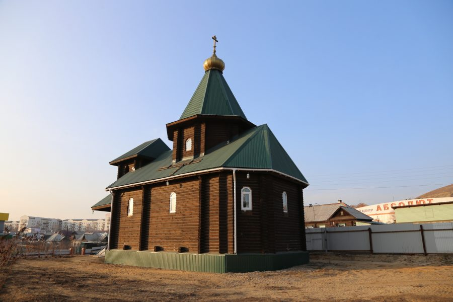 Архипастырский визит в Улан-Удэ