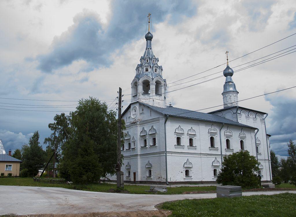 Благоустройство Николо-Улейминского монастыря