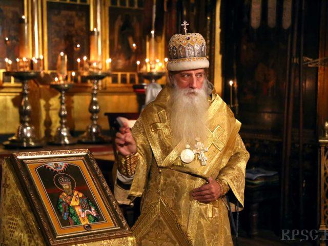 На Рогожском почтили память cвятителя Амвросия Белокриницкого