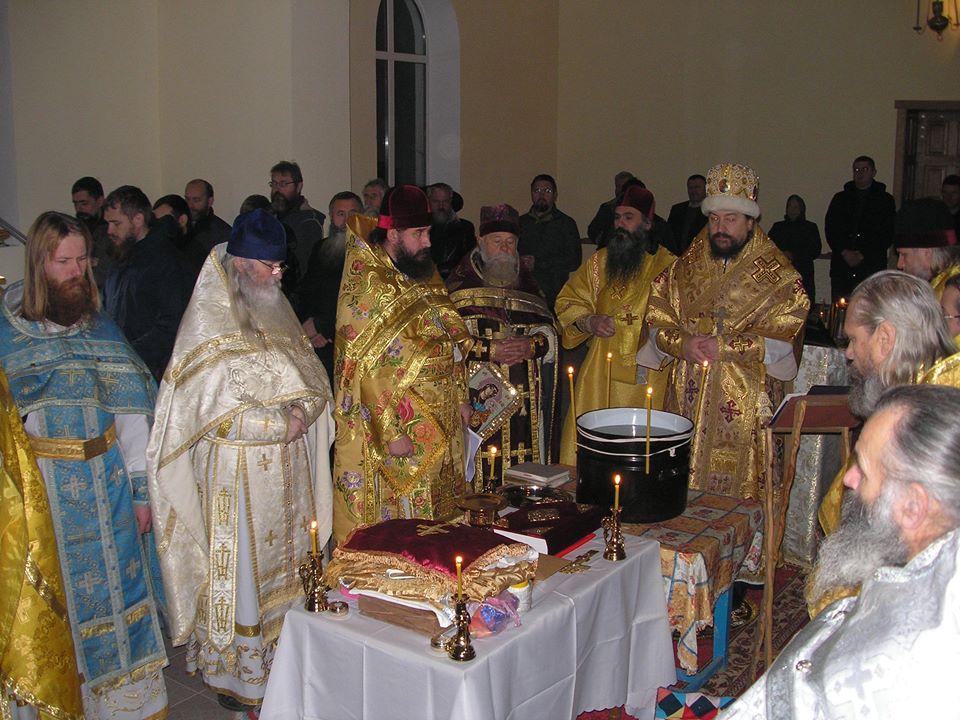 Освящение храма в Липованах