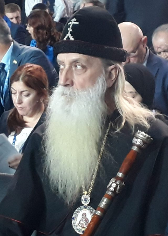 Митрополит Корнилий посетил пленарное заседание съезда партии «Единая Россия»