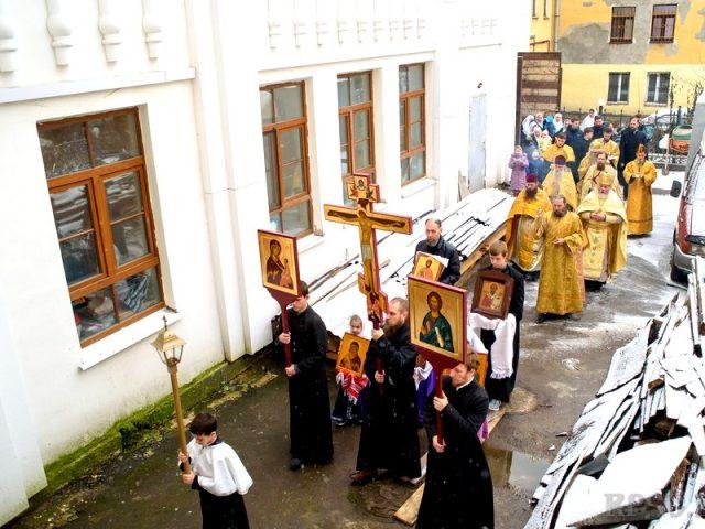 Память святаго благовернаго князя Александра Невского в Санкт-Петербурге