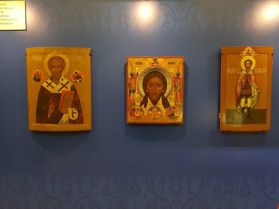 Старообрядческие иконы экспонированы на выставке в Государственной Думе РФ