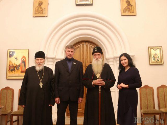 Гости из Бурятии в Рогожском духовном центре