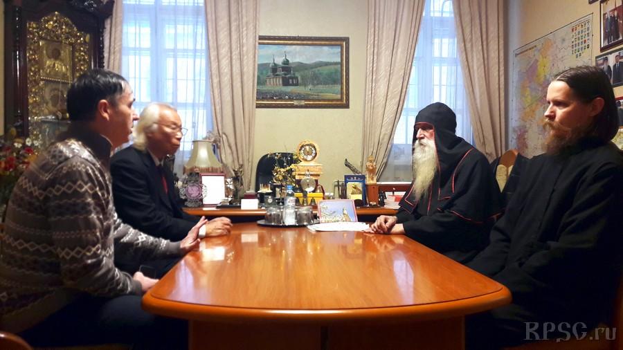 Гость из Китая в Рогожском духовном центре