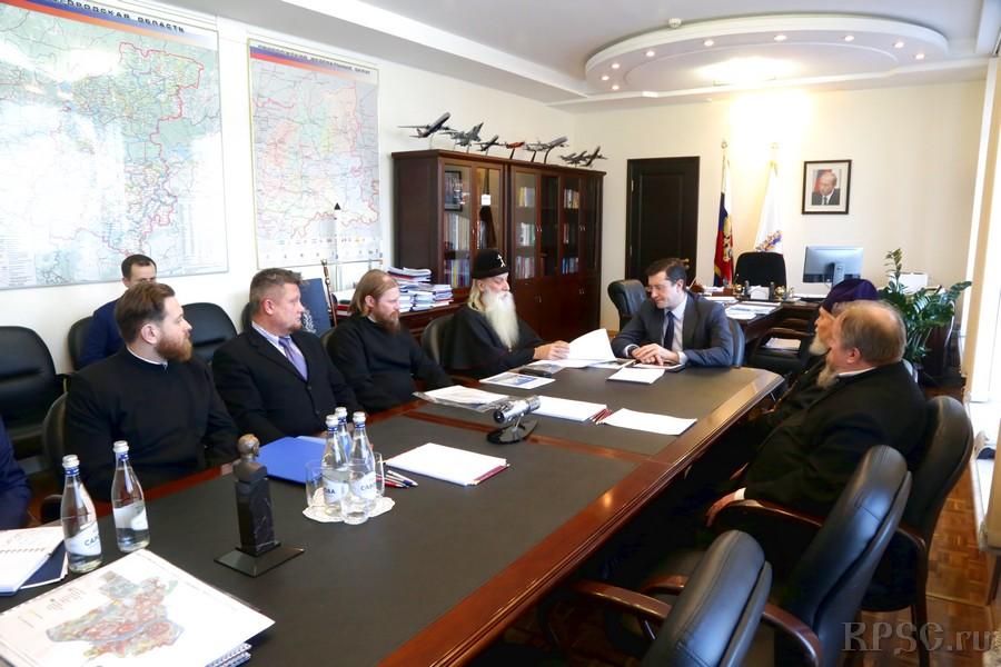 Встреча с губернатором Нижегородской области