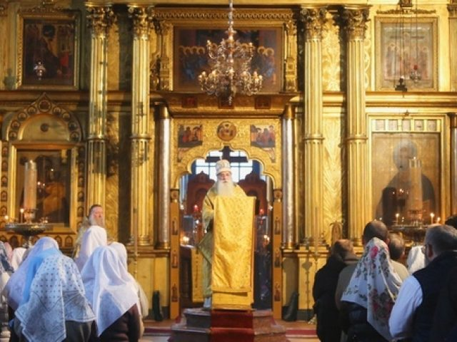 Проповедь преосвященнейшего митрополита Корнилия по случаю начала Великого поста