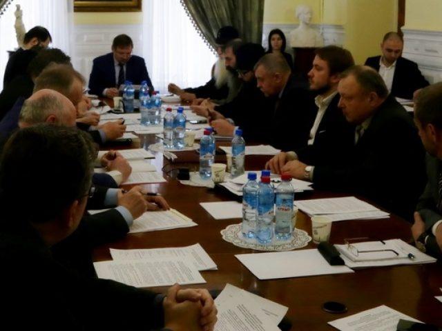 Заседание в Министерстве культуры