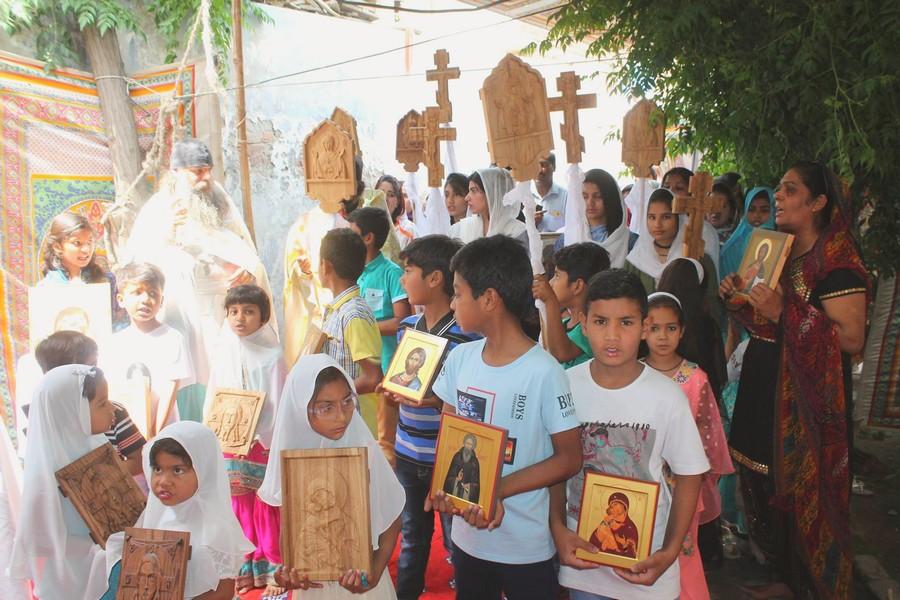 В Пакистане впервые прошел старообрядческий крестный ход