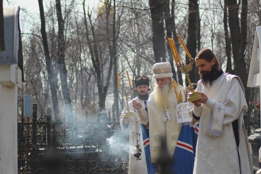 Пасхальные богослужения на Рогожском
