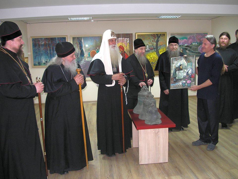 В Кишиневе открылась выставка художника Петра Рыльского