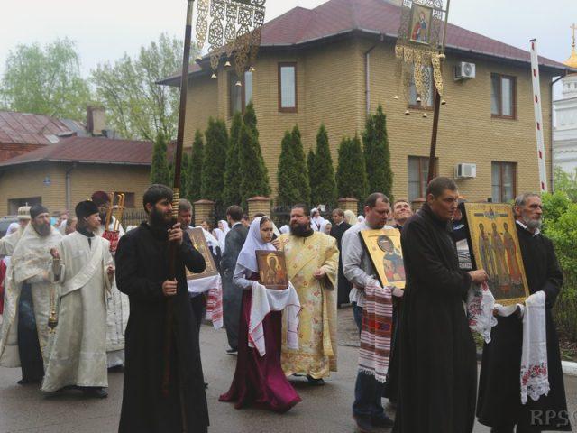 Престольный праздник в Егорьевске